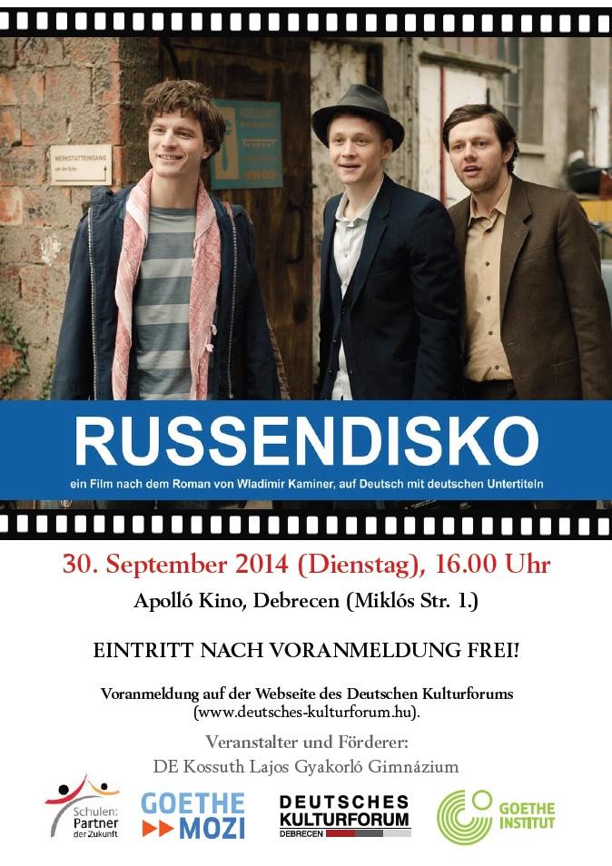 russendisko plakat